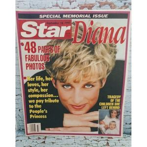 Princess Diana Di Tabloid Magazine Issue